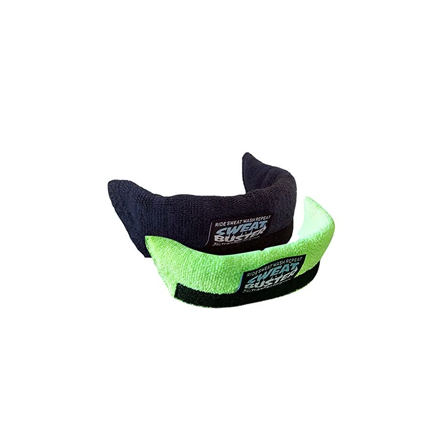 Sweat Buster Helmet Sweatband Road, Cycling, MTB, Mountain Climbing or Any Shell Type Helmet Simple Removal for Washing Extra Comfortable & No Drips