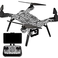 MightySkins Protective Vinyl Skin Decal for 3DR Solo Drone Quadcopter wrap cover sticker skins Floral Lace