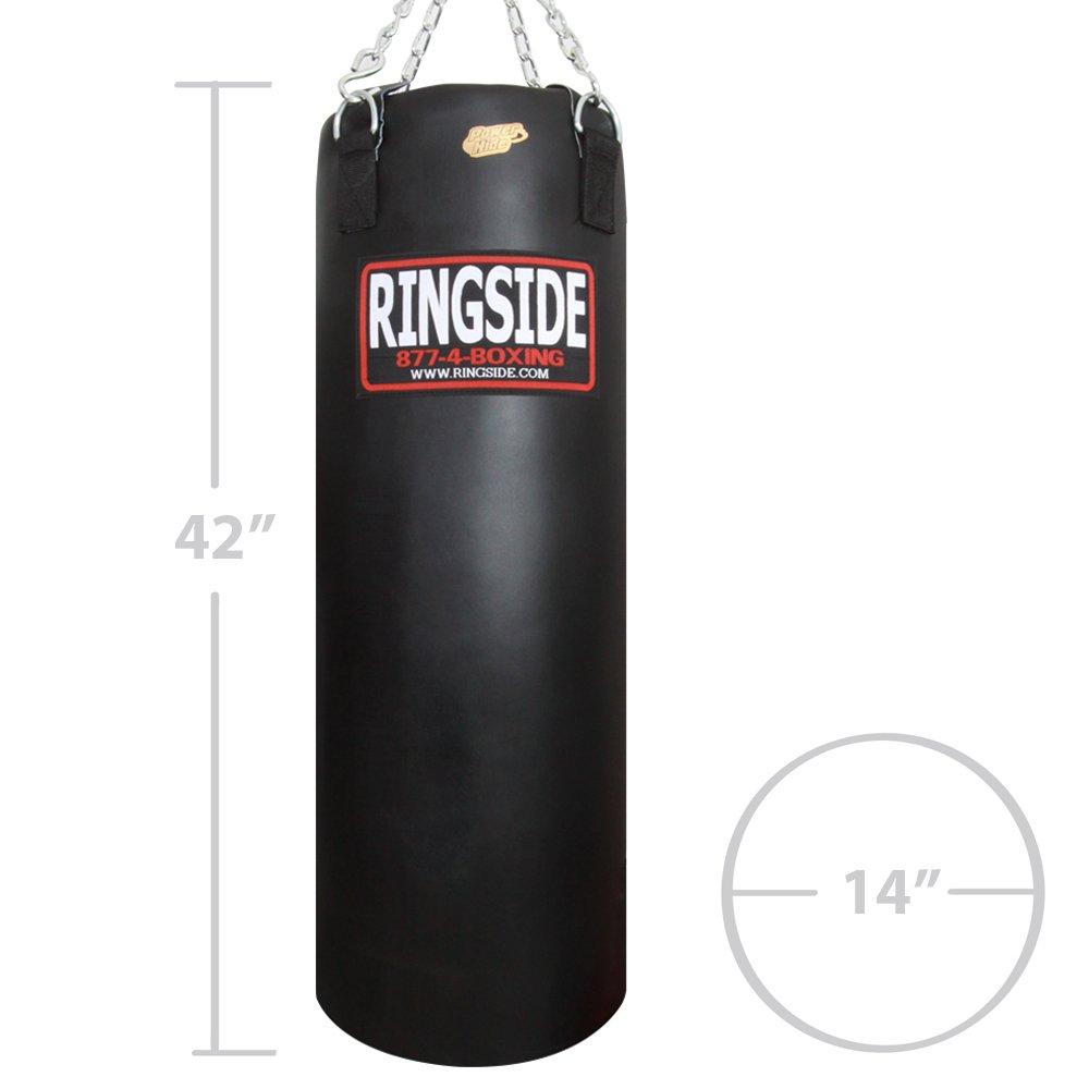 Ringside Powerhide Boxing MMA Muay Thai Fitness Workout Training Kicking Punching 100 lb Heavy Bag - Soft Filled