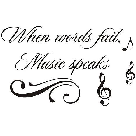 Amazon.com: Homefind When Words Fail, Music Speaks ...