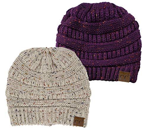 Aeropost.com Jamaica - Funky Junque CC Confetti Knit Beanie Thick Soft Warm  Winter Hat Unisex 6ad6897a215b