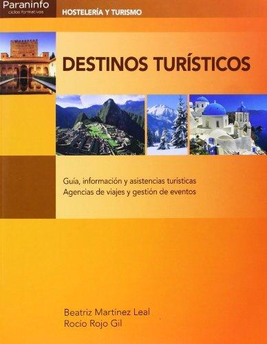 Descargar Libro Destinos Turísticos Beatriz MartÍnez Leal