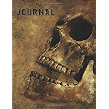 Journal: Skull 8x10 128 Page Lined Journal/Notebook/Diary (Vol. 2)