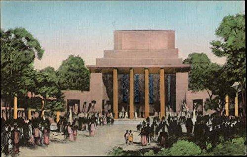 Temple of Religion - New York World's Fair 1939 NY World's Fair Original Vintage Postcard from CardCow Vintage Postcards