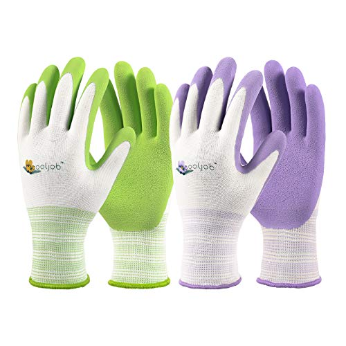 COOLJOB Gardening Gloves for Women