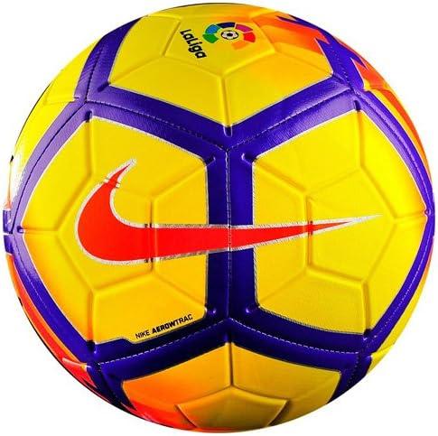 Nike Ll Nk Strk Balón de Fútbol, Amarillo/Morado/Carmesí/Carmesí ...