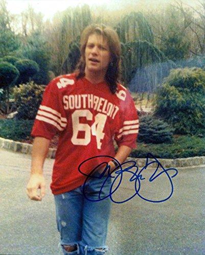 Jon Bon Jovi signed 8x10 photo -