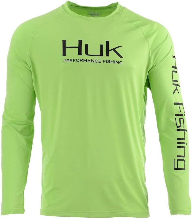 HUK Performance Fishing Herren Huk Pursuit Vented Long Sleeve Shirt Lang/ärmelig