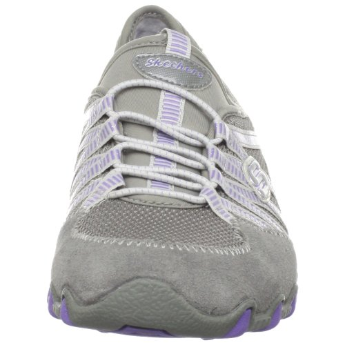 Grigio Skechers Grau nbsp;Hot Ticket donna Sneaker Bikers Gypr 21159 YYgw0qr