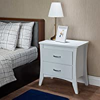 HomeRoots Furniture 286121-OT Nightstands and Bedside Tables, Multicolor