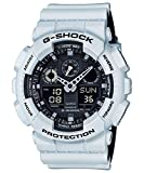 G-Shock GA-100 Military Series Watches - White/One Size