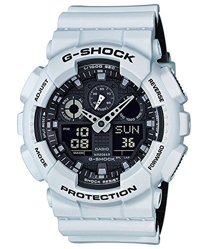 G Shock GA 100 Military Watches White