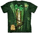 St. Patrick's Day Lucky Leprechaun Suit T-shirt, L