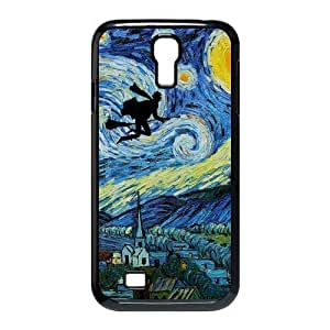 Custom Your Own Vincent Van Gogh Harry Potter Starry Night SamSung Galaxy S4 I9500 Case , Special designer Harry PotterGalaxy S4 Case