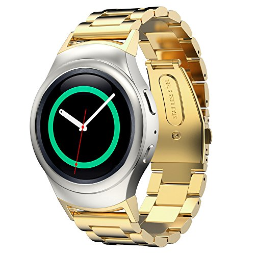 stainless-steel-band-for-samsung-gear-s2-rm-720-smart-watch-by-dbmood4-color826-inches-gold