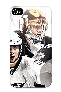 Freshmilk High Quality Hockey Tampa Bay Lightning Case For Iphone 4/4s / Perfect Case For Lovers