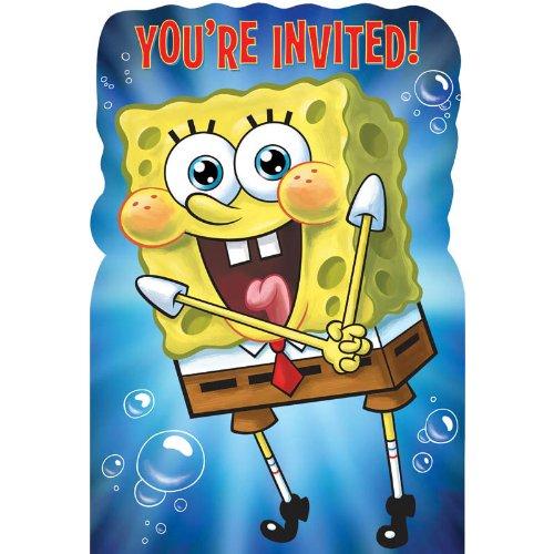 (Spongebob Invitations)
