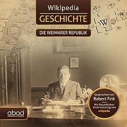Die Weimarer Republik (Wikipedia Geschichte)