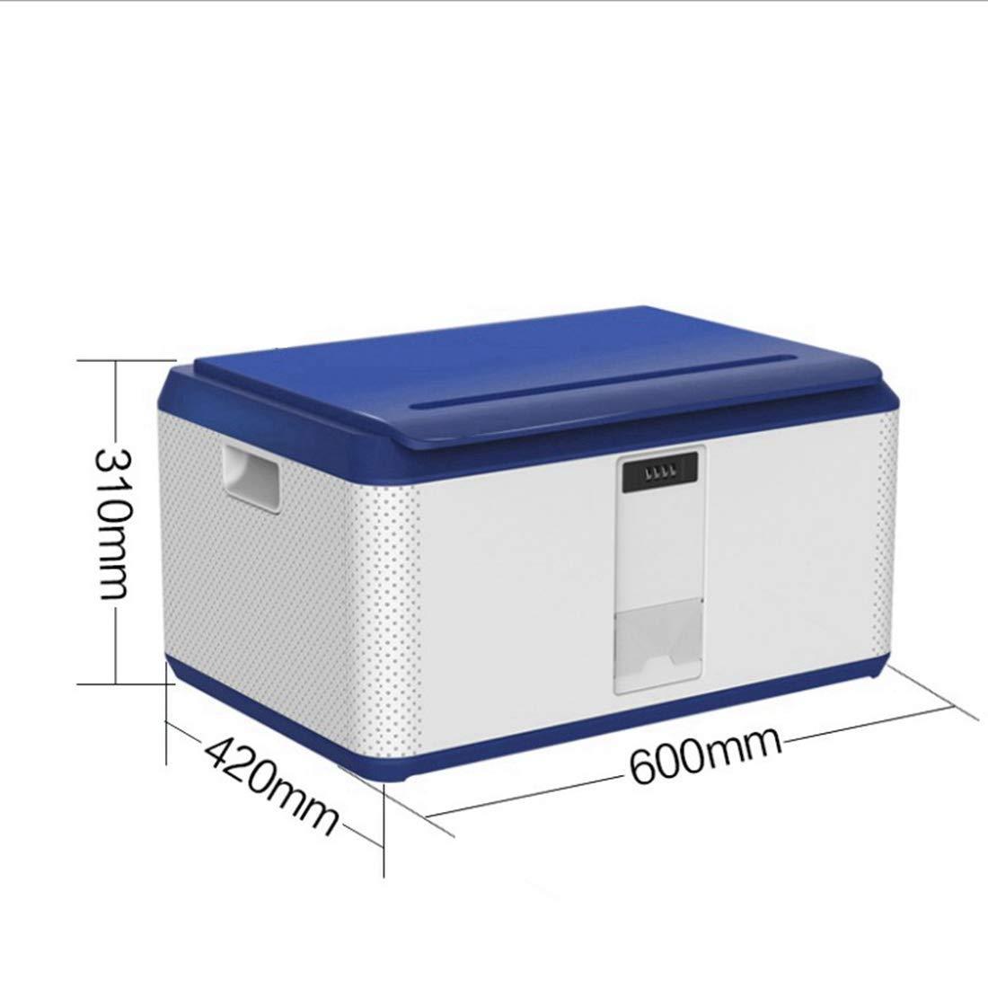 CAFUTY 多機能メカニカルロックボックス/大容量コレクションボックス (Color : ブルー) B07N37SH1N ブルー