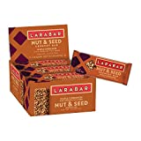 Larabar Crunchy Nut & Seed Gluten Free Bar, Maple Cinnamon with Sprouted Chia Seeds, 1.24 oz Bars (15 Count)