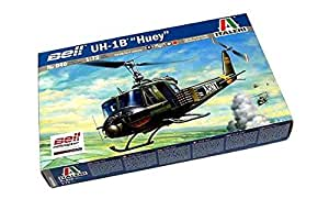 rcecho® ITALERI Helicopter Model 1/72 Bell U-1B Huey Scale Hobby 040 T0040 with 174; Full Version Apps Edition