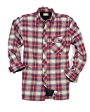 Backpacker Men's Flannel/Quilt Lined Shirt Jacket, Independent, X-Large Tall