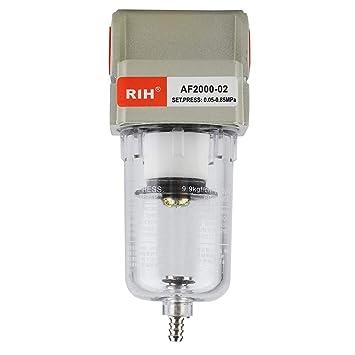 Trampas de Aceite Filtro de Agua Separador, Filtro de la trampa de la humedad del