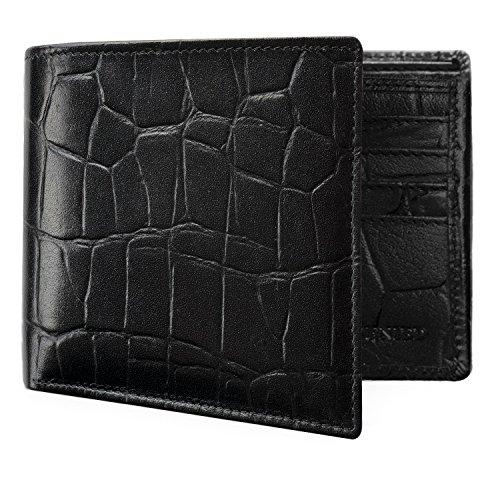 Genuine Leather Wallets Men Removable