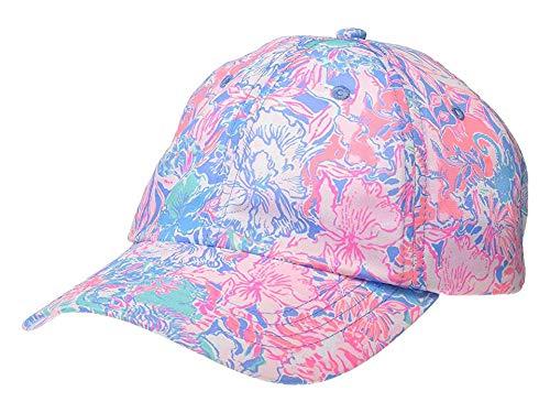 Lilly Pulitzer Women's Run Around Hat Blue Peri Viva La Lilly One Size