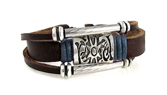 Leather Zen Bracelet Jewelery