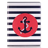 Meiliio ipad Pro 12.9 Screen Protector,Cute Cartoon PU Leather Lightweight Case Cover with Pencil Holder & Card Slots for iPad Pro 12.9