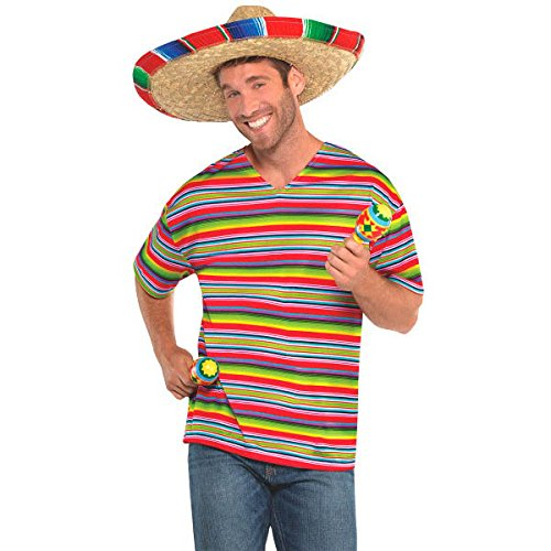 Amscan Cool Fiesta Shirt (3 Packs) by Amscan