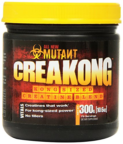 Mutant Creakong – 300G Of Delivering Sheer Unadulterated Size And Power, A Creatine Blend That Delivers Only Pure Creatines From The World's Leading Creatine Sources. by Mutant