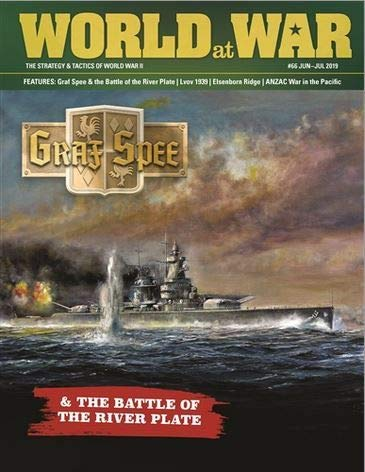 DG: World at War Magazine #66, with Cruise of The GRAF Spee Boardgame (Best Randomly Generated Games)