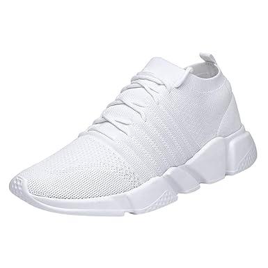 Zapatos para Correr Gimnasio Sneakers,JiaMeng Zapatillas de ...