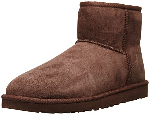 UGG Women's Classic Mini Chocolate Boot 7 B - (Tall Chocolate Ugg Boots)