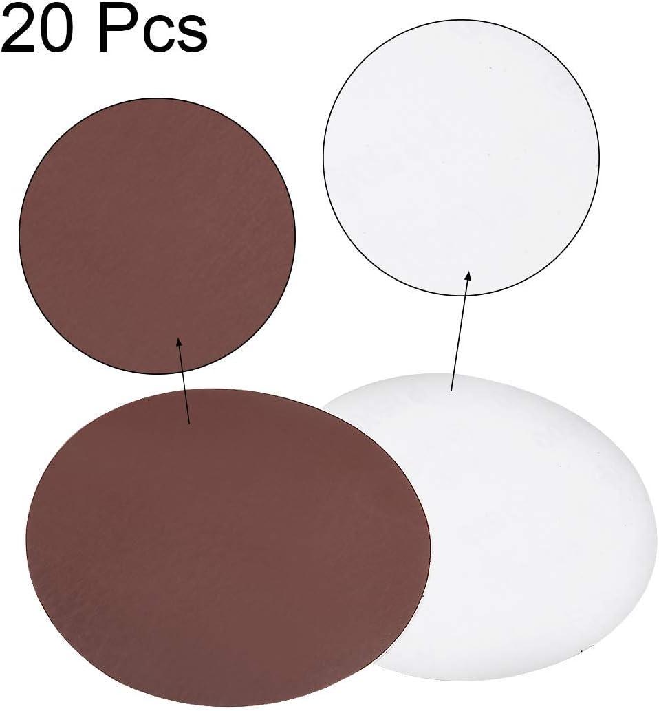 6-inch PSA sanding discs 1500 Grains Self-adhesive adhesive Aluminum oxide sandpaper 20 pieces