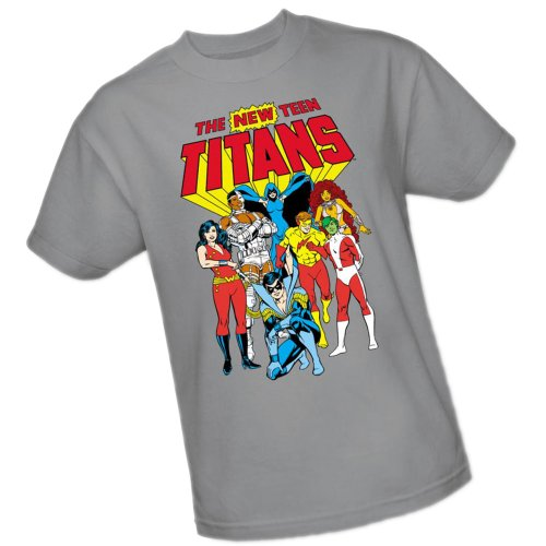 New Teen Titans -- DC Comics Adult T-Shirt, Medium