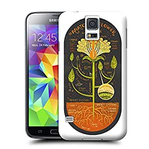 Unique Phone Case The Anatomy of a Flower art print Hard Cover for samsung galaxy s5 cases-buythecase wangjiang maoyi