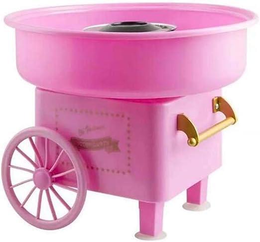 500W Máquina Eléctrica para hacer Algodón de Azúcar, Entertainment Cotton Candy Maker, de plástico, Retro Cotton Candy Machine, 280×30 cm: Amazon.es: Hogar