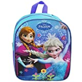 Disney Frozen Preschool Backpack Toddler 11' (Anna and Elsa Backpack with Purple Piping)