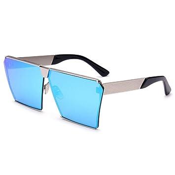 RAQ Gafas de Sol Mens Square Europa y Estados Unidos Gafas ...