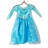 Loel Princess Inspired Girls Snow Queen Party Costume Dress (3-4ys)