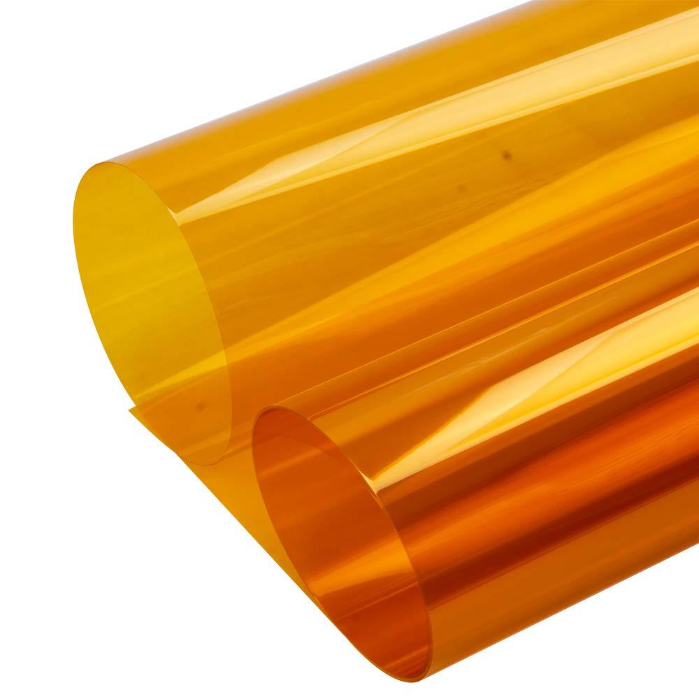 Decocar 窓ガラスフィルム 装飾フィルム 飛散防止 uvカット 遮光効果 住宅用 ゴールド 金色 B07HQBH4S2  152cm*2000cm