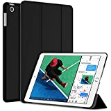 JETech Case for Apple iPad (9.7-Inch, 2017 Model), Smart Cover Auto Wake/Sleep, Black