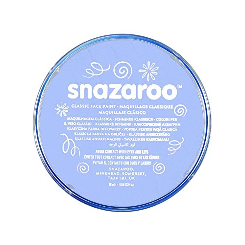 Snazaroo Classic Face Paint, 18ml, Pale Blue