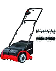 Save on Einhell GC-SA 1231 1200 W Electric Dual Purpose Scarifier and Lawn Rake/Aerator - Red and more