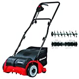Einhell GC-SA 1231 1200 W Electric Dual Purpose Scarifier and Lawn Rake/Aerator - Red