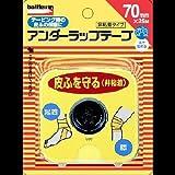 NICHIBAN(ニチバン) ニチバン バトルウィン アンダーラップテープ 70mm×25m 1ロール入