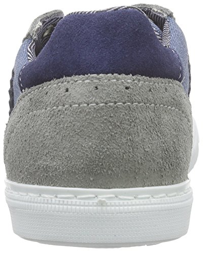 BULLBOXER Agm000e5l Jungen Low-Top Grau (Grey)